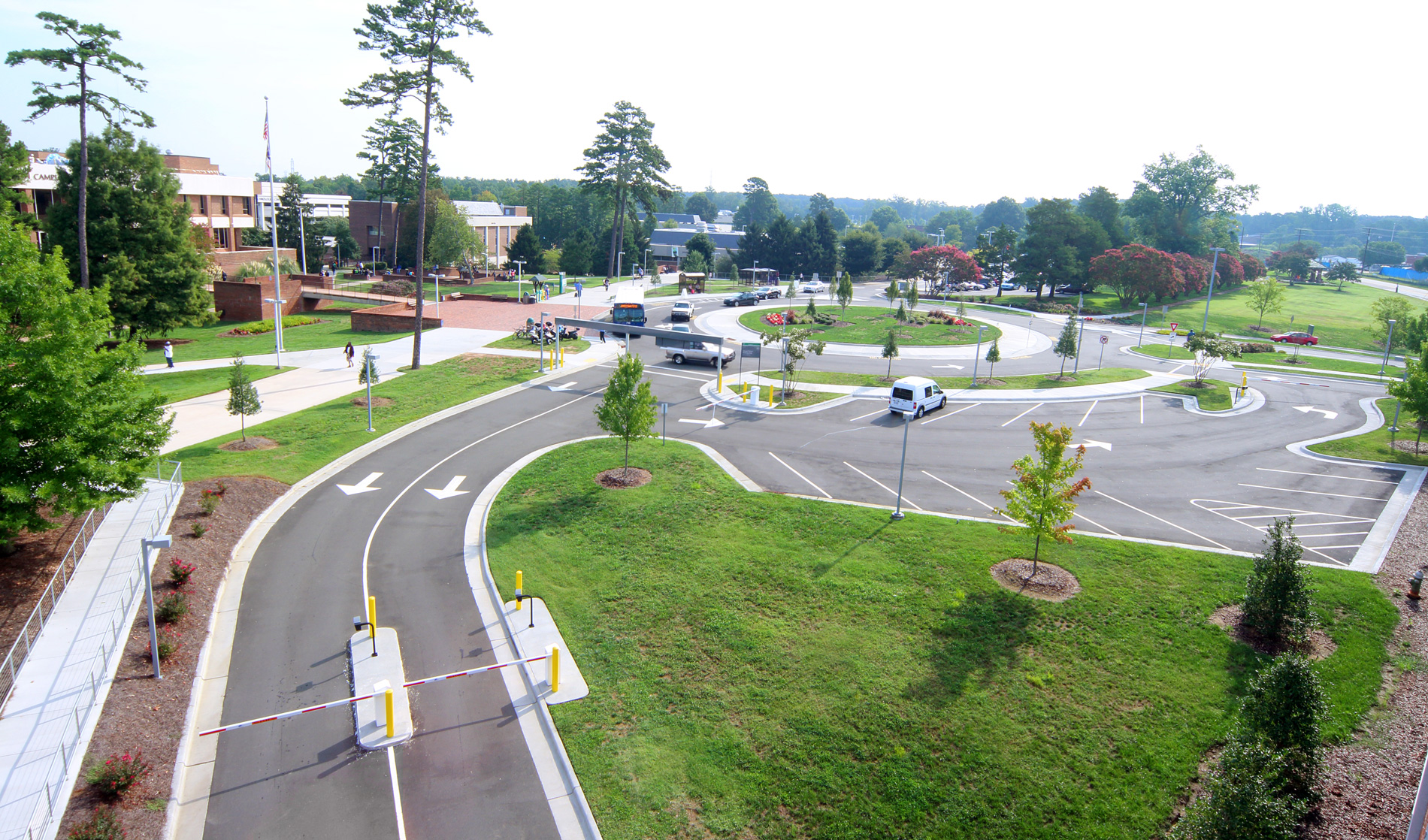 Gtcc New Parking Deck Roadway Improvements To Guilford Technical Community College